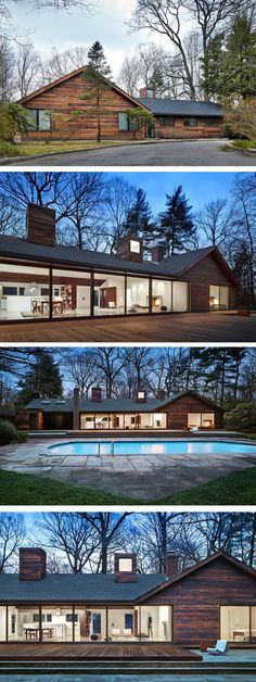 CDR Studio Architects have designed the renovation of a house on Long Island in New York.