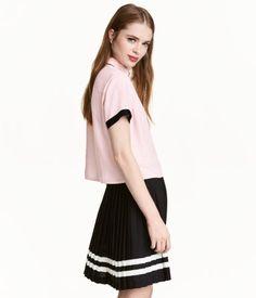 Viscose Blouse | Light pink | Women | H&M US