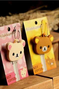 This key cap feature the kawaii design of rilakkuma,rabbit and little chicken.