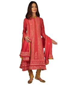 Pure Georgette Intricate Chikankari With Kamdaani Anarkali Suit