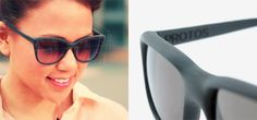 3D-printed glasses are custom tailored to the wearer's face. AWESOME!! Great use of 3D printing