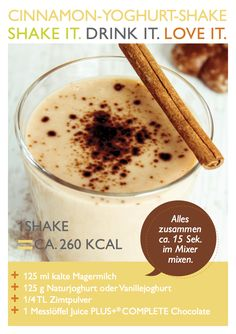 Zimt-Jogurth Shake