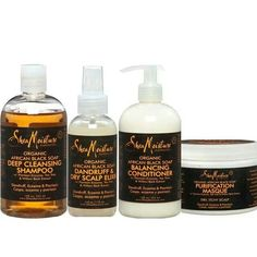 Shea Moisture!!! Great for natural hair..