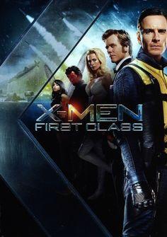 X-Men: First Class movie dvd cover
