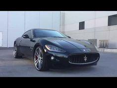 1894   2008 Maserati GranTurismo 22 Savini Wheels For Sale   Scottsdale, AZ - YouTube 2008 Maserati Granturismo, Wheels For Sale, Luxury Cars, Backyard Designs, Vehicles, Youtube, Fancy Cars, Backyard Deck Designs, Exotic Cars
