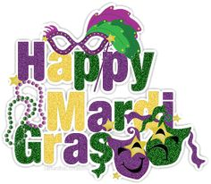 Happy Mardi Gras svg Clip Art | Glitter Graphics: the community for graphics enthusiasts!