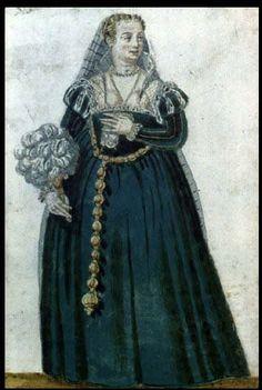 """Julie's Venetian Courtesan: Gown Construction """"Blueprint"""""""