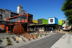 Re:Start Shopping Mall, Christchurch, New Zealand  This is where I live. I love this city