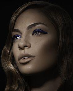 #eyeliner #glitter #makeup