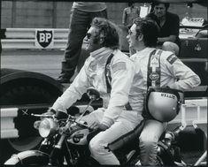 Steeve McQueen & Jo Siffert - Le Mans film set