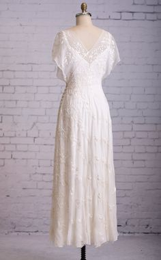 Casual Wedding Dress Simple wedding dress by MartinMcCreaCouture