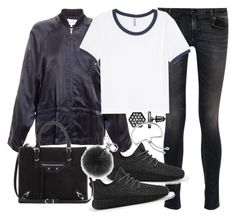 """""""Untitled #19143"""" by florencia95 ❤ liked on Polyvore featuring R13, adidas, Ann Demeulemeester, H&M, Balenciaga, Michael Kors, Simply Vera and Monica Vinader"""