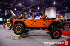 Orange Crush Jeep JK is sweet as hell Jeep Jk, 2017 Jeep Wrangler, Jeep Truck, My Dream Car, Dream Cars, Jeep Rims, Orange Jeep, Badass Jeep, Rugged Ridge