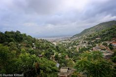 Mountain view above Cap Haitien, Haiti