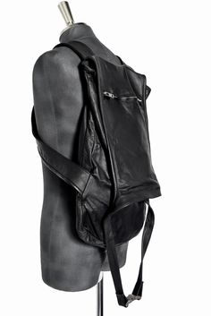 OBSCUR Guidi Waxy Leather Back Pack