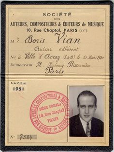 want to learn calligraphy Boris Vian, Learn Calligraphy, Paris, Tumblr, Learning, Cover, Books, Composers, Music