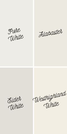 eider white, The Best White Paint Colors from Sherwin Williams - Love Remodeled Off White Paint Colors, Indoor Paint Colors, Off White Paints, Best White Paint, Best Paint Colors, Bathroom Paint Colors, Paint Colors For Home, Neutral Paint, Gray Paint