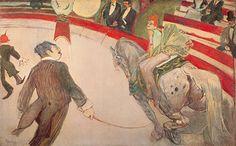 Henri Toulouse-Lautrec, Cirque Fernando Fine Art Reproduction Oil Painting