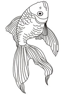 fish coloring Pages   ... do not appear when printed. Only the fishcoloring page will print