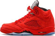 info for a6ad7 dae08 Air Jordan 5 Retro BG University Red Black