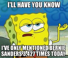 And it's only noon ;)  #FeelTheBern! #BernieOrBust