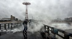 These Beginner Hurricane Sandy Photos Are Devastating #city #photography trendhunter.com