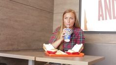 Check out Woman Eating Fast Food here: https://motionarray.com/stock-video/woman-eating-fast-food-59436 #videoediting #motionarray