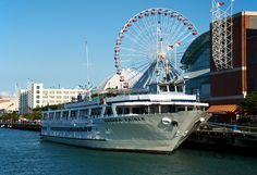 Navy Pier. Chicago, Illinois. Places Ive Been, Places To Go, Navy Pier Chicago, Train Car, Weekend Getaways, Seaside, Michigan, Beautiful Places, City