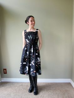 Marnie MacLean's Star Wars dress (from a McCall's pattern)