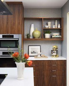 mid century remodel original wood kitchen | 18,149 mid century modern kitchens Home Design Photos