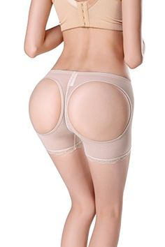 SHUNROUFEN Womens Butt Lifter Enhancer Girdle Boyshort Panties w/ Open Hip Shaper (X-Large, Beige) >>> Read more info by clicking the link on the image. Hip Shaper, Firm Control Shapewear, Boyshorts, Beige, Link, Check, Women, Fashion, Girdles