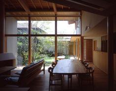 岡崎のセミコートハウス 横内敏人建築設計事務所