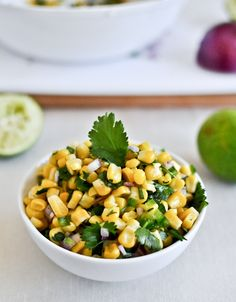 Just Like Chipotle's Corn Salsa... made this tonight along with the cilantro lime rice and other ingredients to mimic chipotle's and it was amazing. Won't be spending that money eating out again....promise.