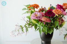 summer flowers by Pollen Floral Art | Q blog | Wedding ...