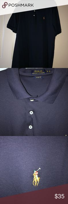 Navy polo shirt Navy polo shirt with emblem Polo by Ralph Lauren Shirts Polos Navy Polo Shirt, Shop My, Man Shop, Polo Ralph Lauren, Mens Tops, Closet, Shirts, Things To Sell, Style