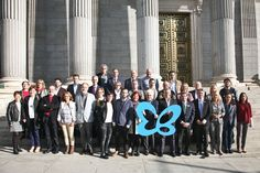 On 25th October, Butterfly Skin International Day, several cities in Andalucia and Spain marked the day by wearing wings and placing a giant butterfly on a landmark building in support of all those living with Butterfly Skin.