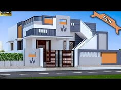 30 Beautiful Small House Front Elevation Design 2019 / Ground Floor Elevation Ideas - Decor Tips 2019 House Front Wall Design, Brick House Designs, House Main Gates Design, Single Floor House Design, Village House Design, Simple House Design, Bungalow House Design, House Design Photos, Cool House Designs