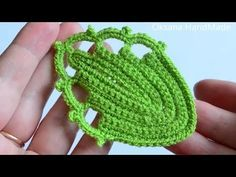 Листья крючком. Мастер класс. Leaf / Leaves crochet - YouTube