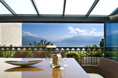 What about in room dining? In the Royal Suite, enjoy the view privately with an amazing dinner in the panoramic veranda. Above The Clouds, Dream Hotel, Windows, Dining, Rooms, Amazing, Bedrooms, Food, Coins