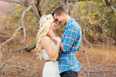 Woodsy Engagement Photos: Brilane + Daniel   Green Wedding Shoes Wedding Blog   Wedding Trends for Stylish + Creative Brides