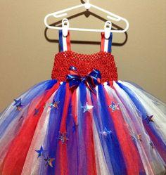 Fourth of July Tutu Dress