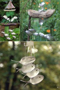 Décoration de jardin : idée de bricolage original
