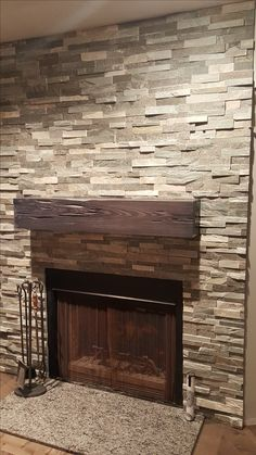 18 best ledger stone panel accent walls fireplace surrounds rh pinterest com