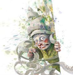 Om stress i DBMagasinet Lisa, Character Sketches, Kids And Parenting, Norway, Illustrator, Illustration Art, Barn, Clip Art, Princess Zelda