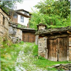 The village of Leshten. It will impress you with it's authentic Bulgarian architecture and atmosphere. Landscape Photography Tips, Scenic Photography, Landscape Photos, Night Photography, Aerial Photography, Places Around The World, Around The Worlds, Bulgarian, Macedonia