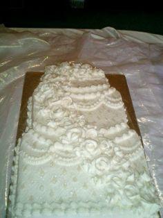 Wedding Sheet Cakes On Pinterest Sheet Cake Wedding Sheet Cakes And