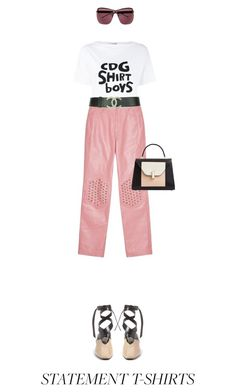 """Untitled #578"" by adaylateabuckshort ❤ liked on Polyvore featuring J.W. Anderson and Comme des Garçons SHIRT"
