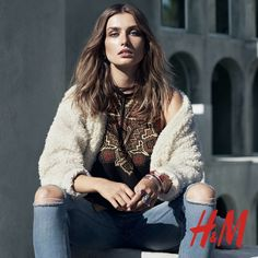 H&M Shows Us How to Wear the Boho Trend for Fall via @WhoWhatWear