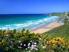 Watergate Bay, the best beach ever. Brilliant for surfing.