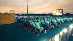 Days out - Rooftop Film Club, Stratford